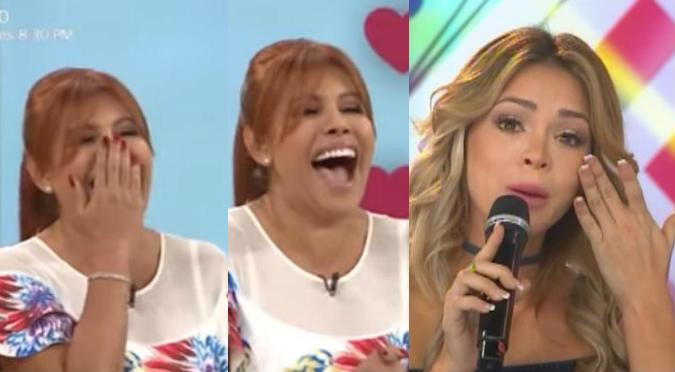 ¿Magaly Medina se burló del anillo de Sheyla Rojas? (VIDEO)