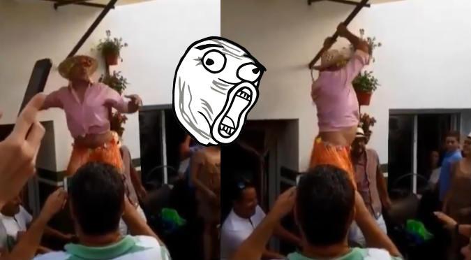 Instagram: Hombre hace el ridículo al imitar a Shakira (VIDEO)