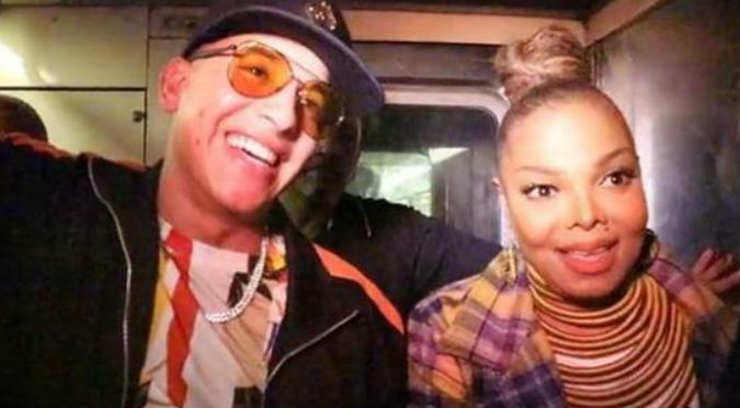 Daddy Yankee enseñó a Janet Jackson a usar el metro (VIDEO)