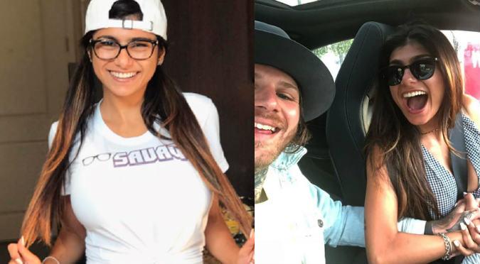 Mia Khalifa comparte video íntimo junto a su novio (VIDEO)