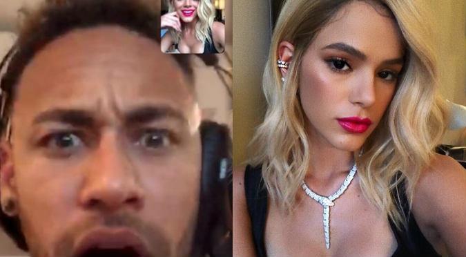 La reacción de Neymar al ver el cambio de look de su novia