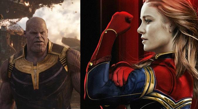 Capitana Marvel: Tráiler oficial de la nueva superheroína que se enfrentará a Thanos