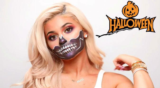 Halloween: Kylie Jenner muestra maquillaje fácil para noche de brujas (VIDEO)