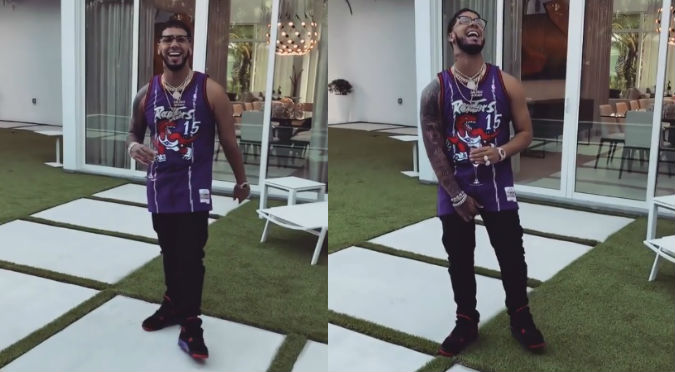 Anuel revela cuánto cobra por un solo disco (VIDEO)