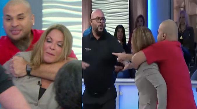 Caso Cerrado: Dra. Ana María Polo fue agredida y tomada de rehén en pleno programa (VIDEO)