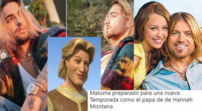 Maluma: Divertidos memes se burlan de nuevo cambio de look (FOTOS)