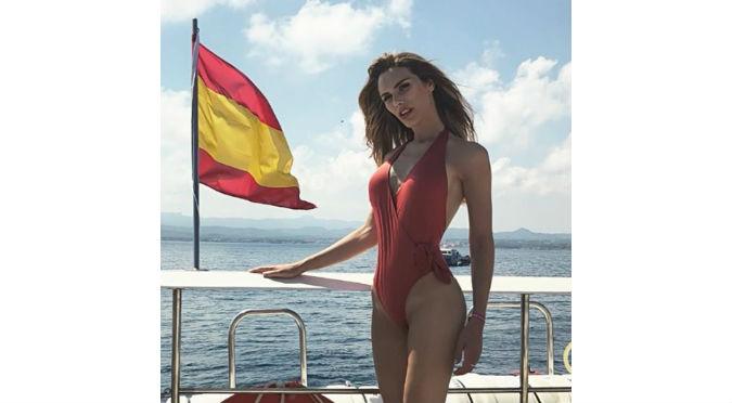 Miss España posa desnuda y es viral en redes sociales