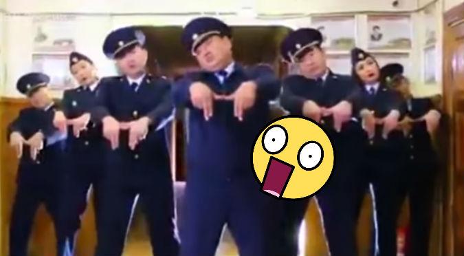 Policías se vuelven famosos por baile en redes sociales (VIDEO)