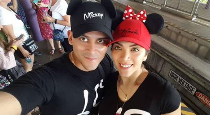 Critican a Christian Domínguez por llevar a Disney a Chabelita y no a sus hijos