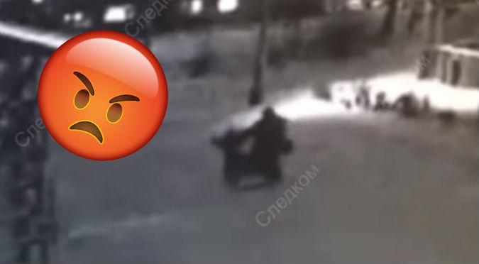 Hombre intenta violar a niña y todo queda registrado (VIDEO)