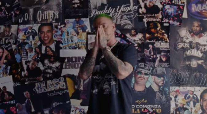 J Balvin estrena 'Reggaetón' y hace bailar a todos (VIDEO)