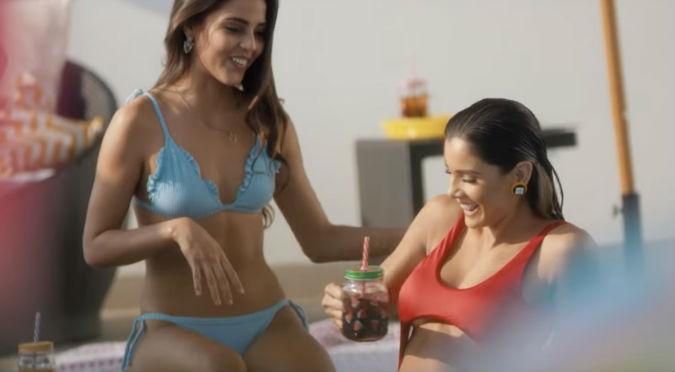 Korina Rivadeneira y Luciana Fuster se lucen en videoclip de Mario Hart (VIDEO)