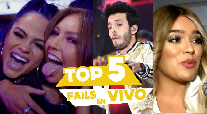 Los 5 FAILS más escandalosos del año (VIDEO)