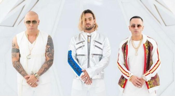 Wisin y Yandel revelan su junte con Maluma
