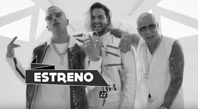 Wisin, Yandel y Maluma estrenan 'La Luz' (VIDEO)