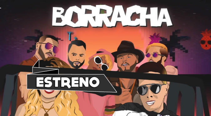 Yera, Juan Magán, Lola Indigo y De La Ghetto juntos en 'Borracha Remix' (VIDEO)