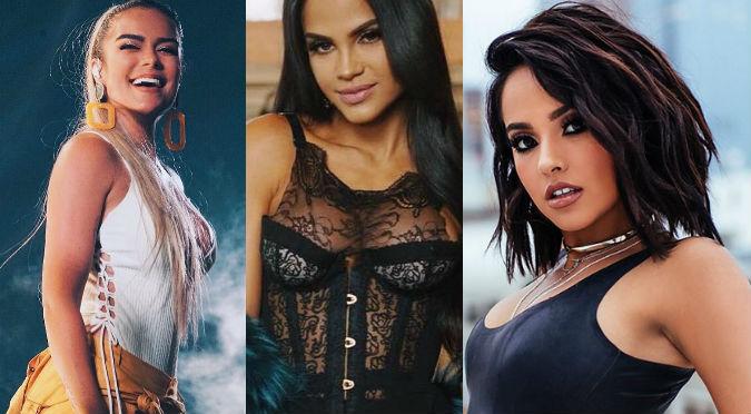 Becky G, Natti Natasha, Karol G y Anitta protagonizaron los bailes más sexys del año