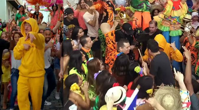 Bad Bunny hace revolución afuera de la casa del gobernador de Puerto Rico (VIDEO)