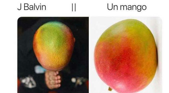 J Balvin dejó la cabeza de mango por este nuevo look (FOTOS)