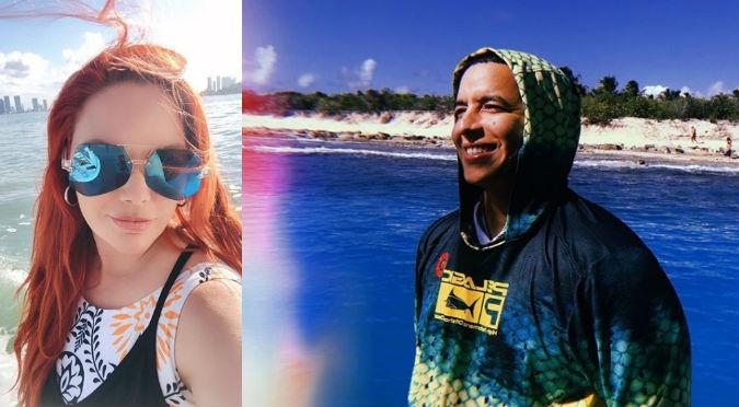 Daddy Yankee y su esposa pasaron unas salvajes vacaciones (VIDEO)