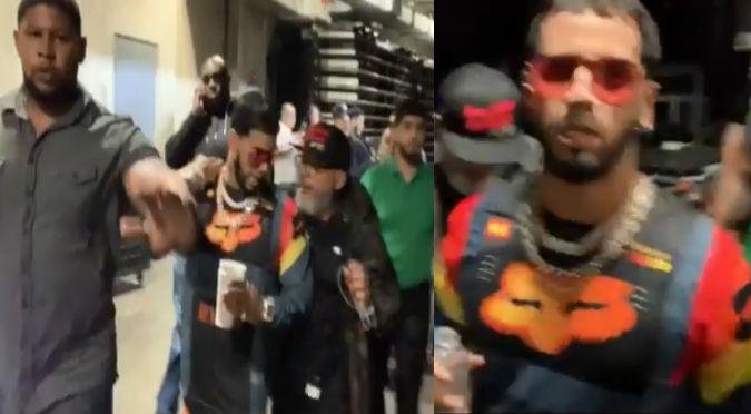 Tildan a Anuel de grosero y presumido por hacer esto con reportero (VIDEO)