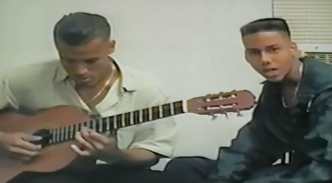 Así lucía Romeo Santos en sus inicios con Aventura (VIDEO)