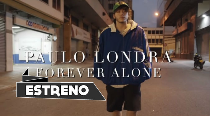 Paulo Londra estrenó 'Forever Alone' (VIDEO)