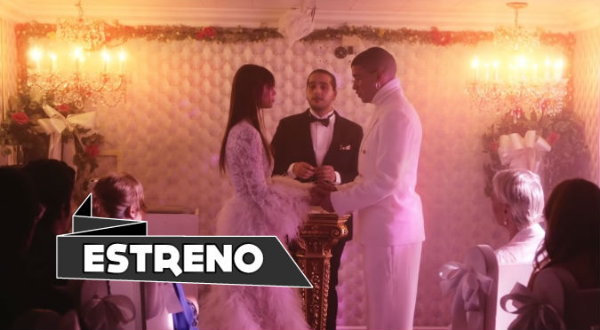 Bad Bunny se casó en San Valentín (VIDEO)