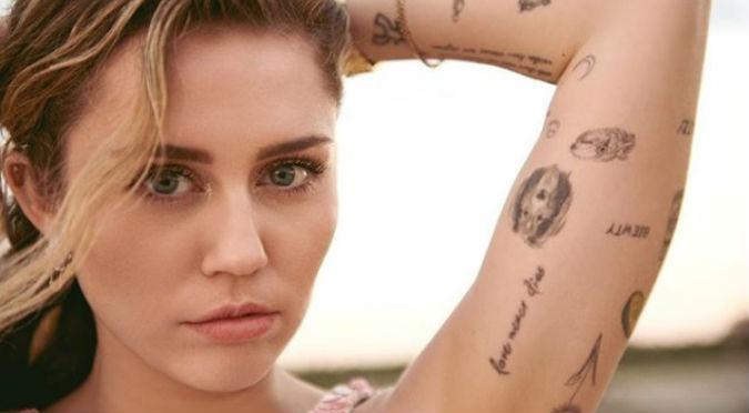 Miley Cyrus se luce con transparencia y no deja nada a la imaginación