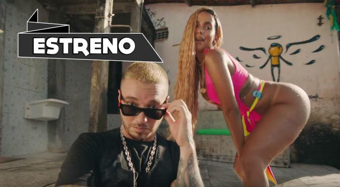 Anitta, J Balvin y Tropkillaz impactan con 'Bola Rebola' (VIDEO)