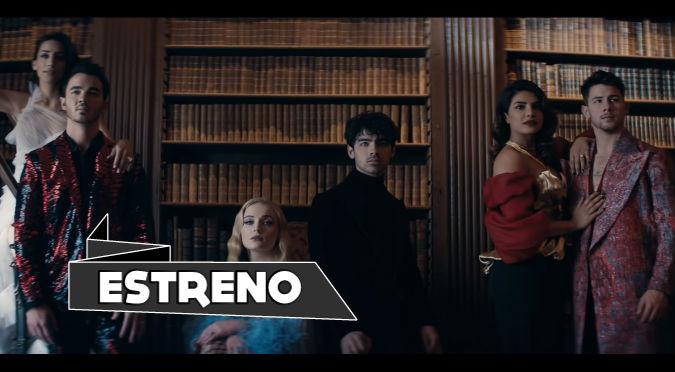 Los Jonas Brothers estrenan 'Sucker' junto a sus chicas (VIDEO)