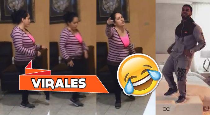 Encuentra a su madre bailando canción de Anuel y ella reacciona así (VIDEO)