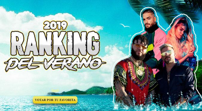Vota por tu canción favorita en el Ranking del Verano 2019