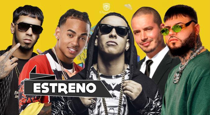 Ozuna, Anuel, Daddy Yankee, J Balvin y Farruko en 'Baila Baila Baila Remix' (VIDEO)