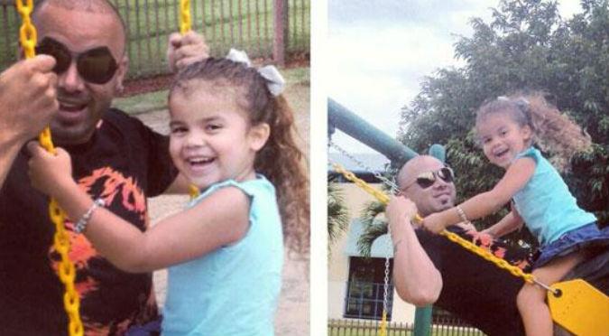 Wisin: Captan a cantante bailando reggaetón con su hija (VIDEO)