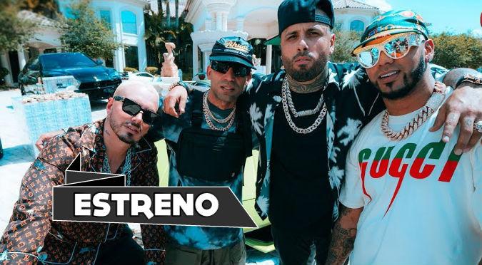Nicky Jam, Anuel AA, J Balvin y Arcángel estrenan 'Ven y hazlo tú' (VIDEO)