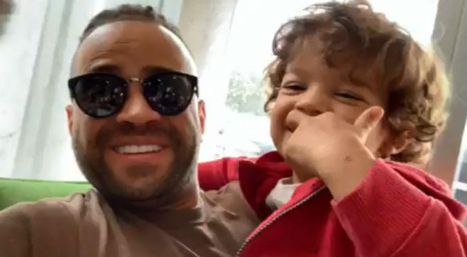 Hijo de Nacho enternece a todos con estas palabras a su padre (VIDEO)
