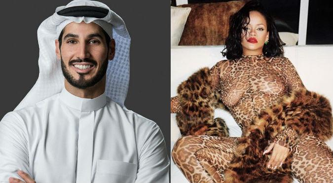 Rihanna grita su amor por multimillonario árabe (VIDEO)