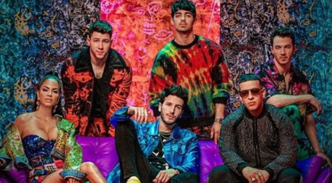 Sebastián Yatra une a los Jonas Brothers, Daddy Yankee y Natti Natasha (VIDEO)