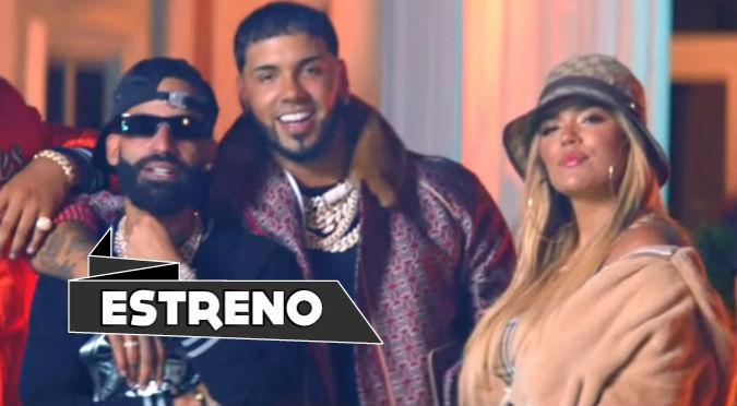 Anuel, Karol G y Arcángel estrenan esperado videoclip 'Tú No Amas' (VIDEO)