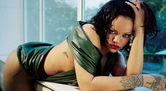 Rihanna luce mini vestido de infarto en la inauguración de su tienda (VIDEO)