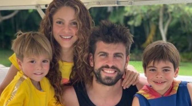 Hijos de Shakira se encontraron con tiburones y reaccionaron así (VIDEO)