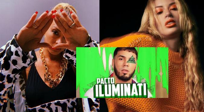 ¿Qué relación tiene Leslie Shaw con los Illuminati? ¡Cantante responde!