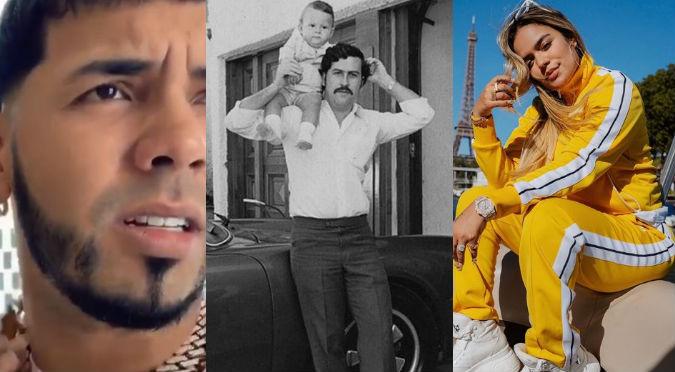 Karol G vuelve loco a hijo de Pablo Escobar con video de su derrier (VIDEO)