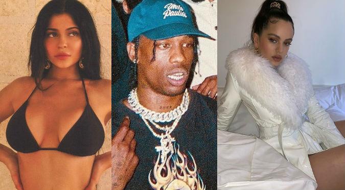 Rosalía y Travis Scott se lucen juntos y Kylie Jenner reacciona así