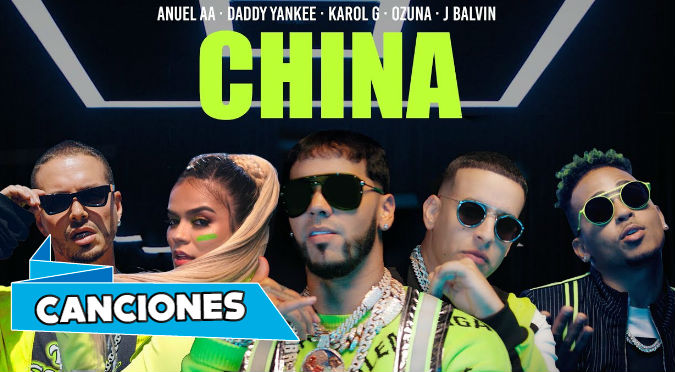 China - Anuel AA, Daddy Yankee, Karol G, Ozuna y J Balvin (VIDEO)