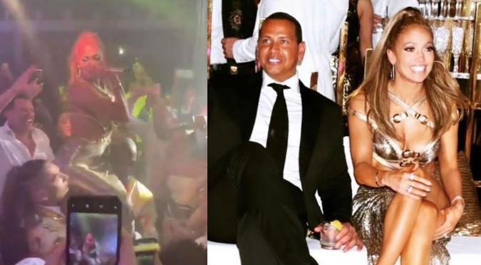 Jennifer López: Así se vivió la lujosa fiesta por sus 50 años (VIDEOS)
