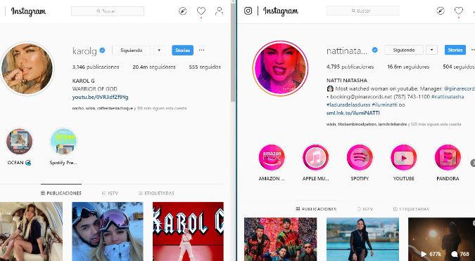 Natti Natasha es acusada de comprar seguidores en Instagram