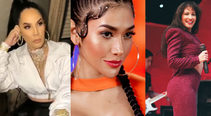 Ivy Queen elogia a Farina por look al estilo de Selena (VIDEO)