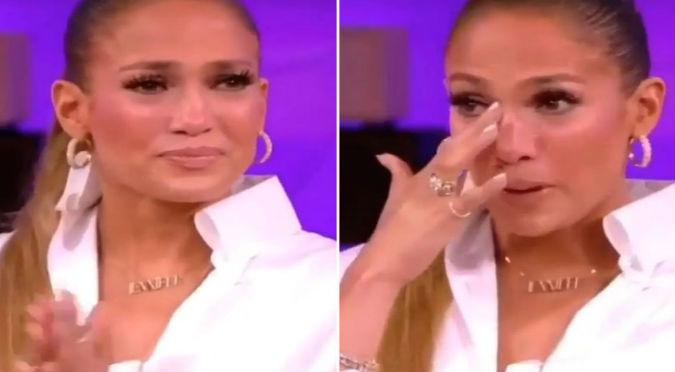 Jennifer López y el emotivo mensaje de despedida que entristeció a sus fans (VIDEO)